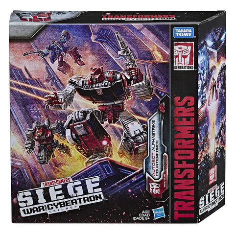 Transformers War for Cybertron WFC-S26 Autobot Alphastrike Counterforce giftset Box Package