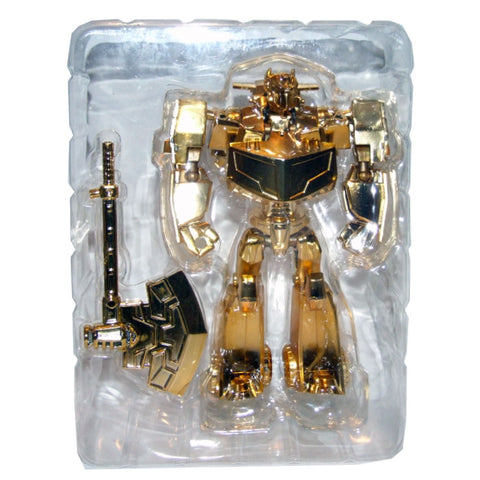 Transformers Lucky Draw Gold Chrome Animated Deluxe Optimus Prime