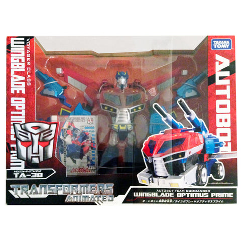 Transformers Animated TA-38 Voyager Wingblade Optimus Prime Japan TakaraTomy Box Package Front