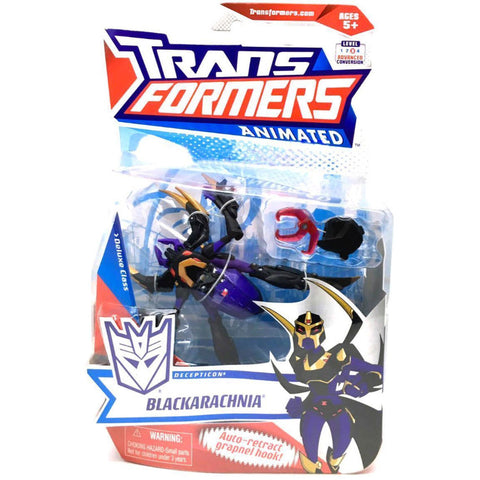 Transformers Animated Deluxe Decepticon Blackarachnia Package