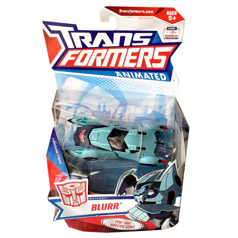 Transformers Animated Deluxe Blurr Package