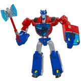 Transformers Animated Deluxe Cybertron Mode Optimus Prime Robot