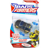 Transformers Animated Deluxe Elite Guard Gold and black bumblebee toy package