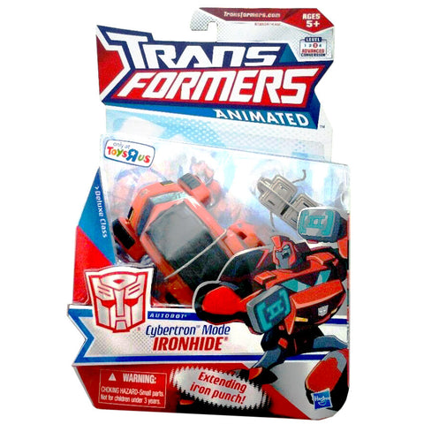 Transformers Animated Deluxe Cybertron Mode Ironhide Toysrus Exclusive MISB package
