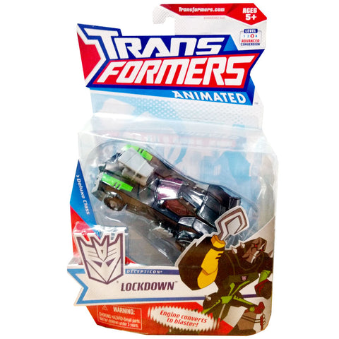 Transformers Animated Deluxe Lockdown package