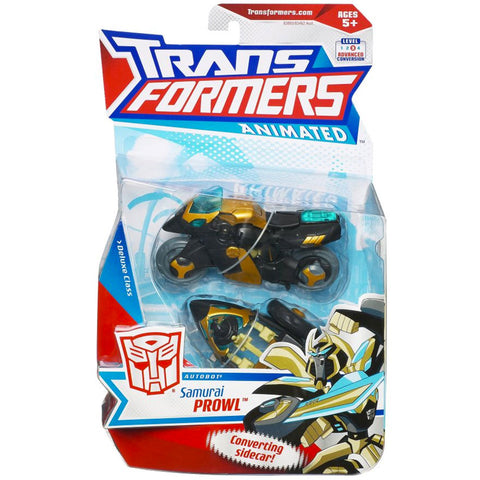 Transformers Animated Deluxe Samurai Prowl Autobot Box Package Front