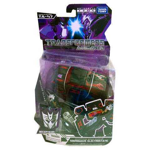Transformers Animated TA-47 Soundwave Electrostatic - Deluxe