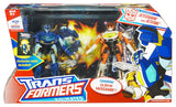 Transformers Animated Jetstorm and Jetfire Safeguard - Giftset