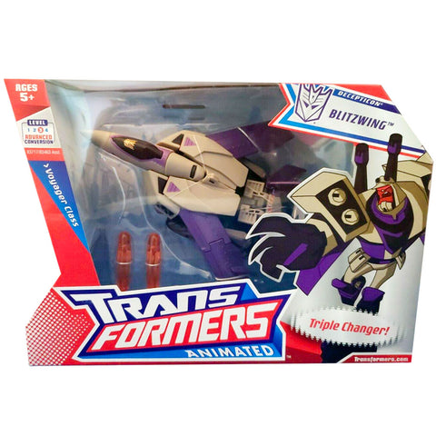 Transformers Animated Voyager Blitzwing Box Package Front