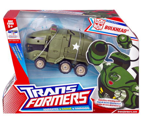 Transformers Animated Voyager Bulkhead Autobot Box Package Front