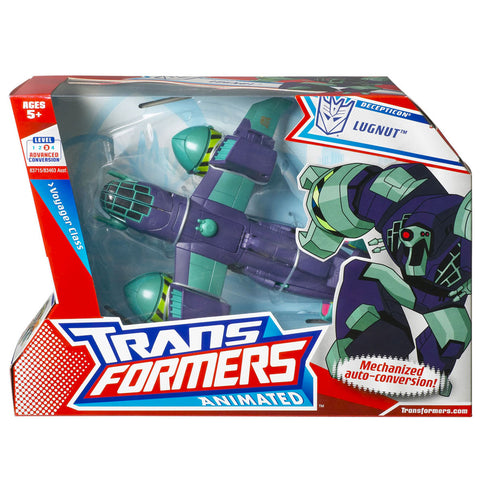 Transformers Animated Voyager Lugnut Box Package Front