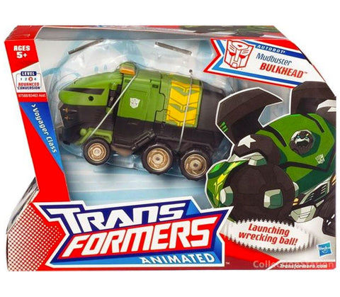 Transformers Animated Voyager Mudbuster Bulkead Cancelled Box Package Front