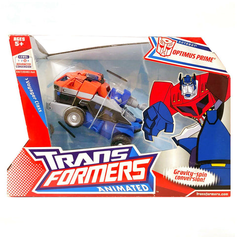 Transformers Animated Voyager Optimus Prime Box Package Front
