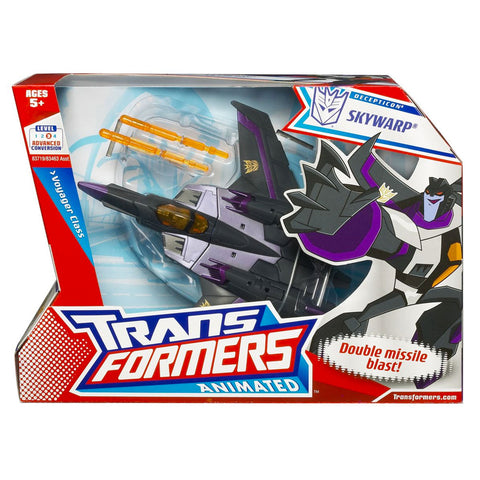 Transformers Animated Voyager Skywarp Box Package Front