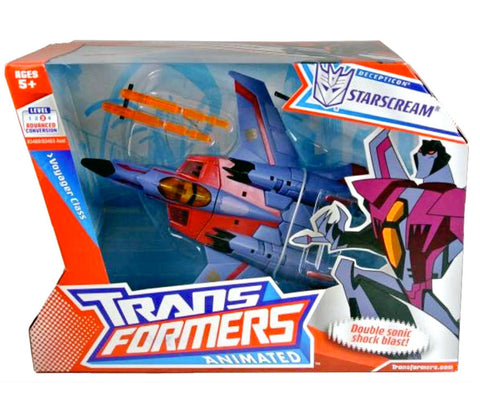 Transformers Animated Voyager Starscream Box Package Front