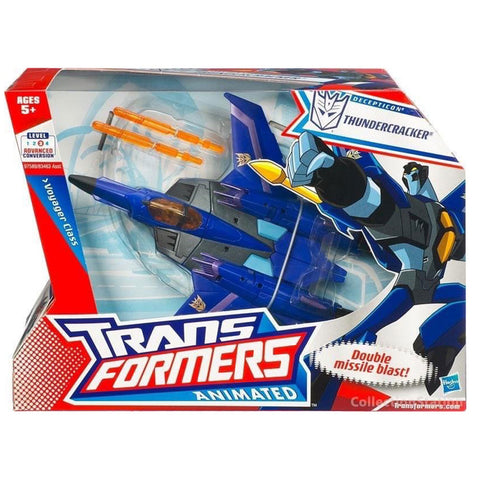 Transformers Animated Voyager Thundercracker Unproduced Sample Box Package Front