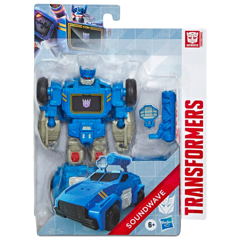 Transformers Authentics Alpha Soundwave box package front