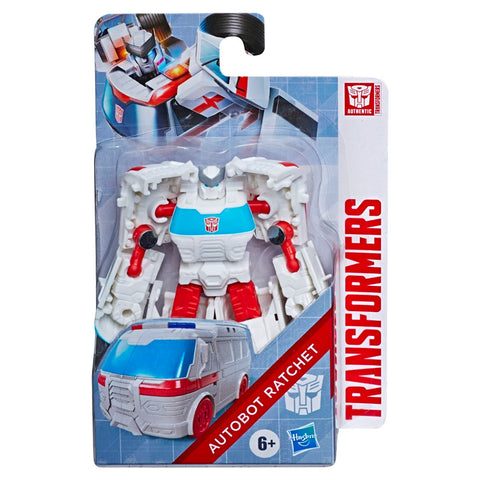 Transformers Authentics Bravo Autobot Ratchet Box package front