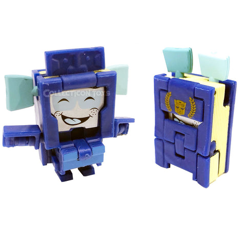 Transformers Botbots Series 5 Frequent Flyers Jet Setter book mark toy