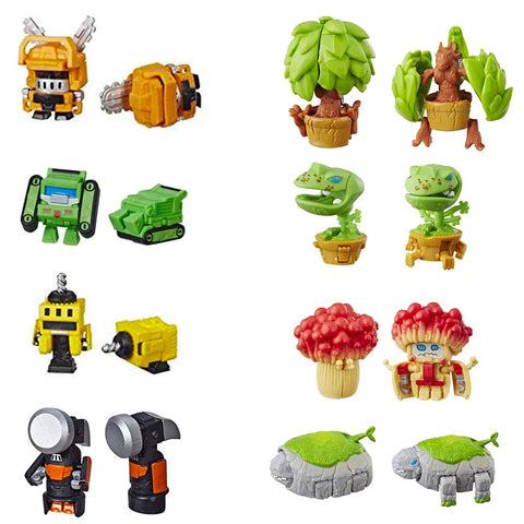 Transformers Botbots Series 2 Shed Heads Complete Set of Eight Toys