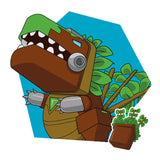 Transformers Botbots Series 1 Toilet Troop Stinkosaurus Rex Character Art