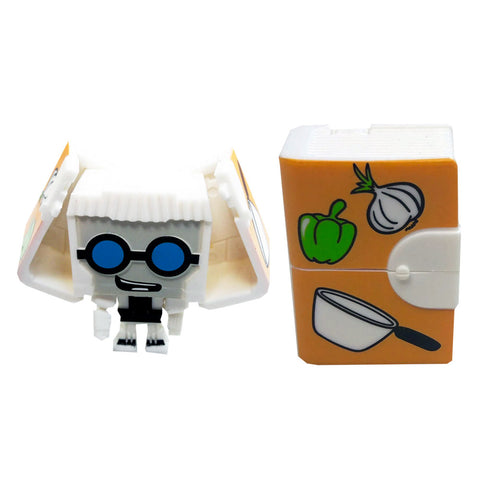 Transformers Botbots Series 1.5 Bakery Bytes Reci P. Cooker Toy