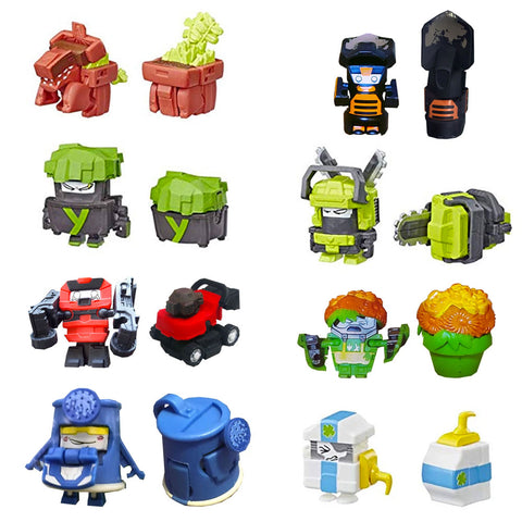 Transformers Botbots Series 1.5 Lawn League Complete Set of 8 Toys