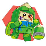 Transformers Botbots Series 2 Backpack Bunch Scribby Character Art