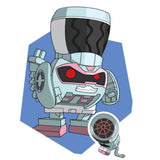 Transformers Botbots Series 2 Swag Stylers Frizzle Fry Artwork