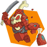 Transformers Botbots Series 2 Lost Bots Hamurai Art