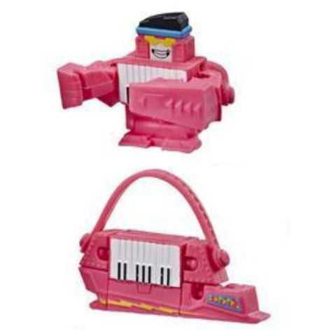 Transformers Botbots Series 2 Music Mob Pink Key Pop Toy
