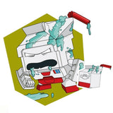 Transformers Botbots Series 2 Spoiled Rottens Grumpy Clumpy Artwork