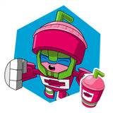 Transformers Botbots Series 2 Sugar Shocks #1 Sippyberry Artwork