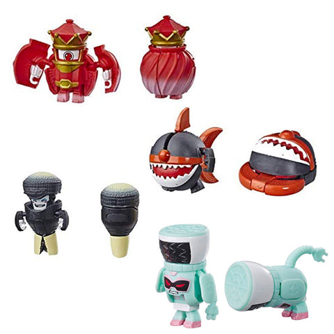 Transformers Botbots Series 2 Swag Stylers Set of 4 Toys