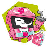 Transformers Botbots Series 2 Toilet Troop Captain Swoon Artwork