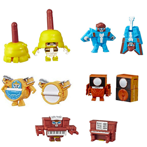 Transformers Botbots Series 3 Music Mob Complete Set of 5