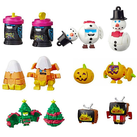 Transformers Botbots Series 3 Season Greeters Complete Set