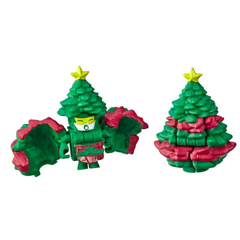 Transformers Botbots Series 3 Season Greeters Wizengreen Toy Xmas Tree