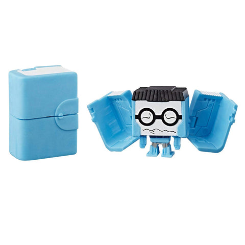 Transformers Botbots Series 1 Backpack Bunch Professor Wellread Toy