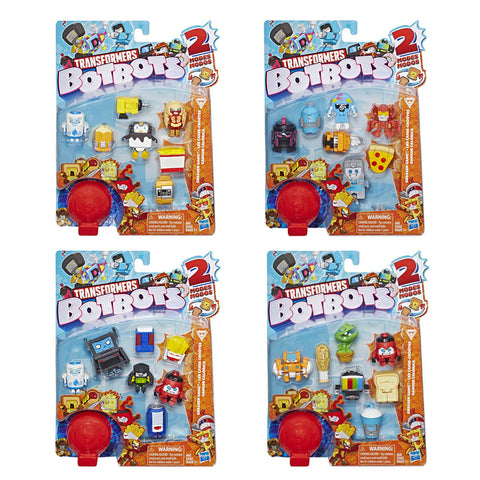 Transformers Botbots Series 1 Greaser Gang 8-pack complete set of 4 MISB box package