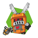 Transformers Botbots Series 1 Shed Heads Cuddletooth Character art