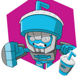 Transformers Botbots Series 1 Sugar Shocks Sippy Slurps Character Art