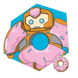 Transformers Botbots Series 1 Sugar Shocks Sprinkleberry D'uhnut Character Art