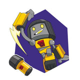 Transformers Botbots Series 1 The Lost Bots Dimlit Character Art