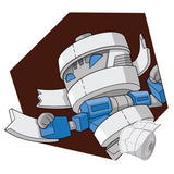 Transformers Botbots Series 1 Toilet Troop King Toots Artwork