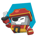 Transformers Botbots Series 1 Toilet Troop Sudsbeard Character Art