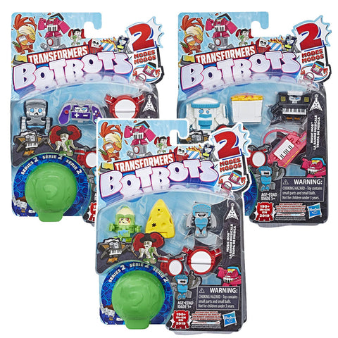 Transformers Botbots Series 2 Music Mob 5-pack complete set of 3 box package