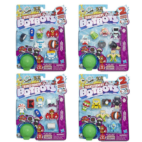 Transformers Botbots Series 2 Swag Stylers 8-pack Complete Set Box Package Front