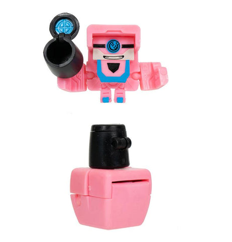Transformers Botbots Series 3 Lost Bots Fail Polish Pink Robot Toy