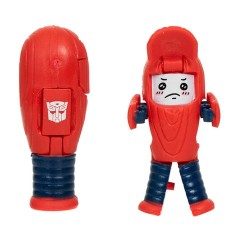 Transformers Botbots Series 3 Lost Bots Strike Four Red Baseball Bat